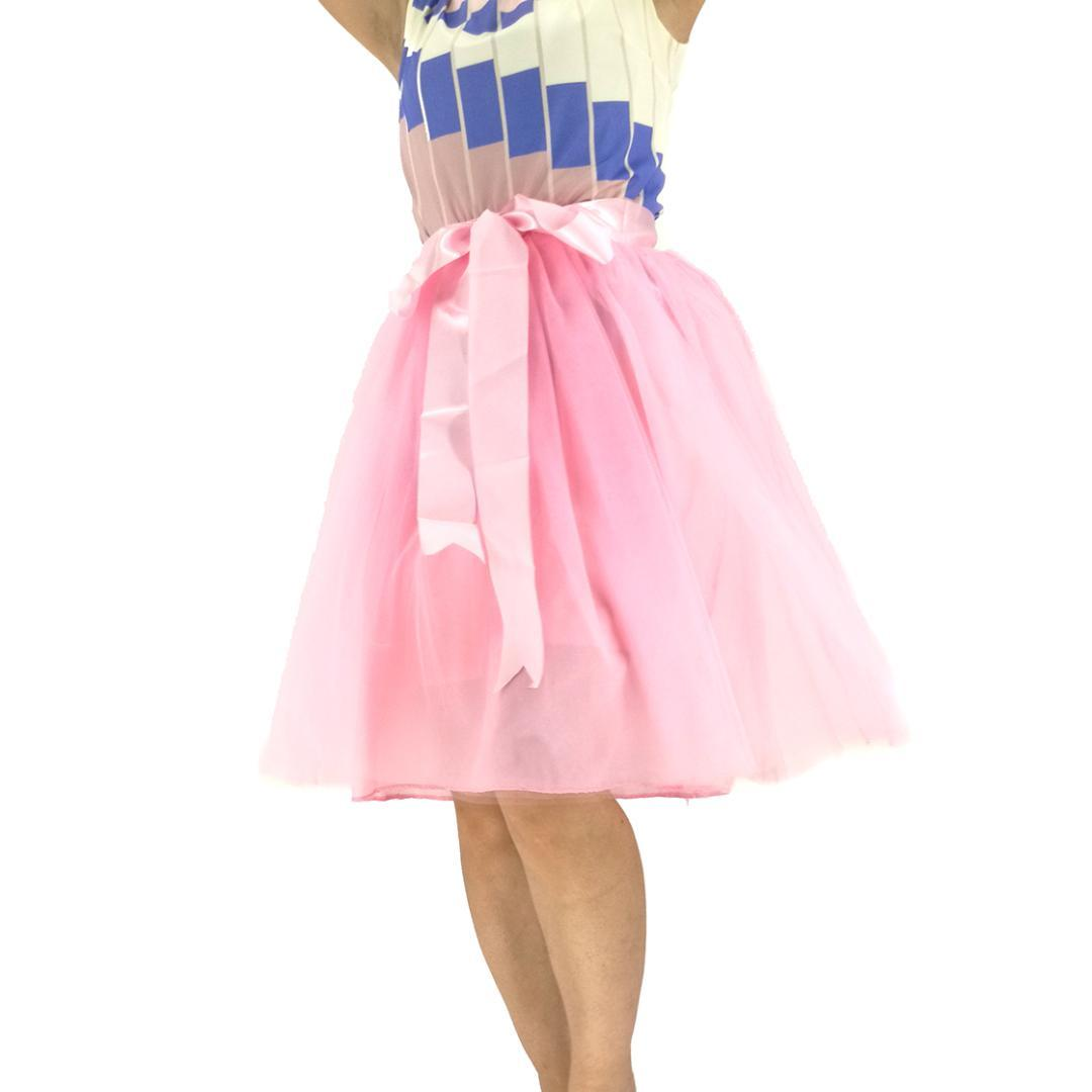 579fc9ef57 Compre Moda Por Encargo 7 Capas Falda De Tul Rosa Vintage Midi Tutu Faldas  Plisadas Falda Mujer Lolita Falda Mujer Saia Jupe A  40.93 Del Aimea