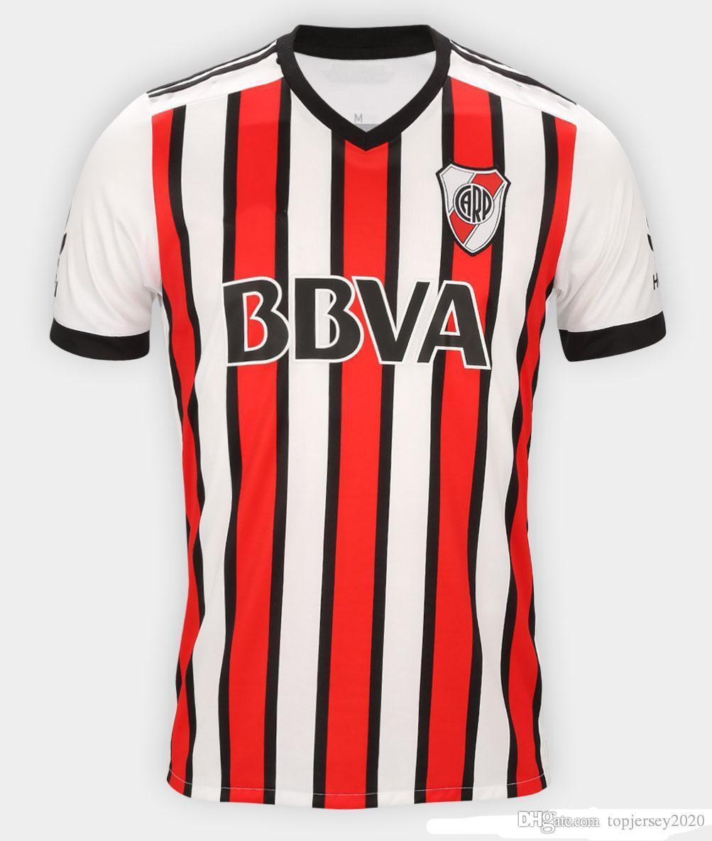 0534eba1d 2019 Thai 2018 River Plate Soccer Jerseys Martinez Ponzio Football Shirt 18  19 Mora Jersey Larrondo Camisas De Futebol From Topjersey2020