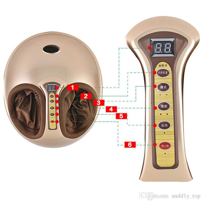 Hot computer-based wireless controllo remoto tempistica terapia a raggi infrarossi massaggiatore multifunzione strumento pallone riscaldamento macchina del piede