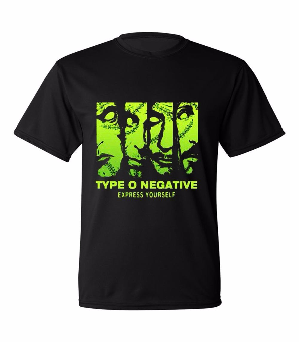 Screen Printing T Shirts Short Crew Neck Type O Negative Beast Mode