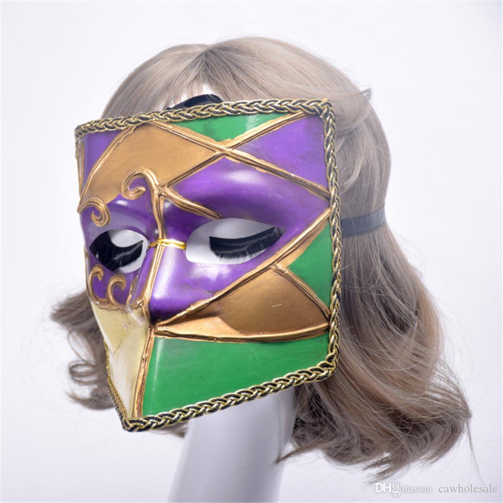 Compre 1 Pieza Halloween Atmosphere Props Venetian Ball Shield ...