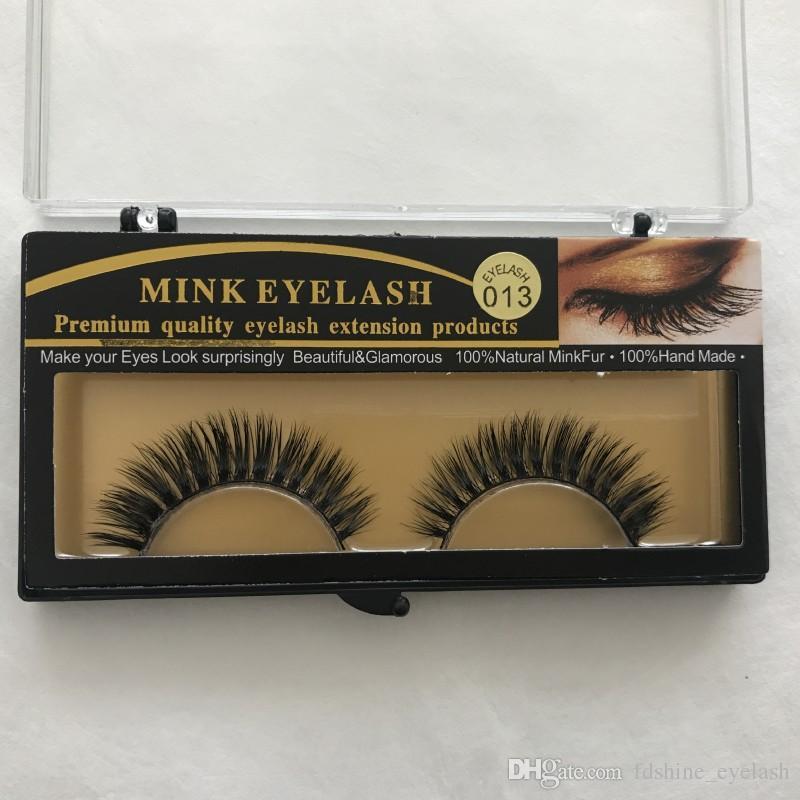 Hot Selling Mink False Eyelashes Comfortable Soft Full Strip Lashes Natural  Long Black Eyelash Extensions Free Shipping