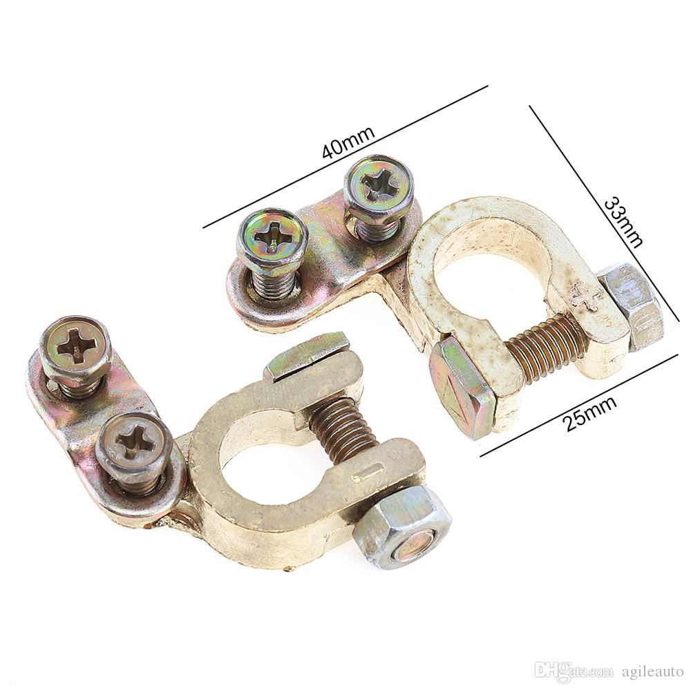 Wholesale Auto Zinc Alloy Car Replacement Battery Connector Terminal Clamp Clips for 36 Battery CEC_90D