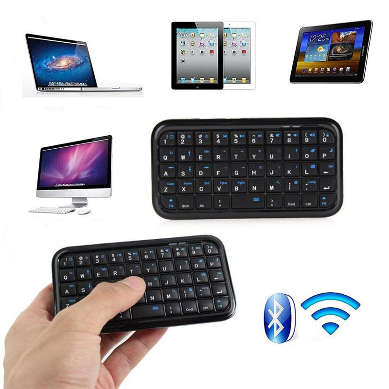 Wireless Mini Keyboard Rechargeable Bluetooth Keyboards for Tablet PS4  Phone Raspberry Pi XXM8