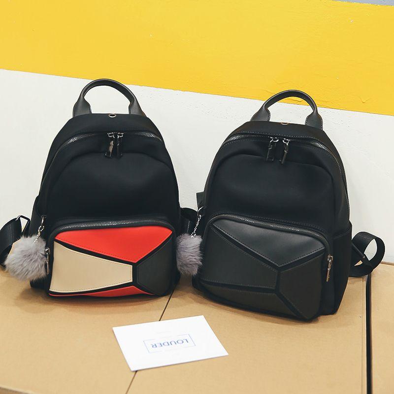 2018 Hot Sale Style Bookbags Nylon Womens Backpack Travel Bags Student  School Bag Girl Backpacks Casual Travel Rucksack Backpack Brands Rucksack  Backpack ... 29893ff589b9c