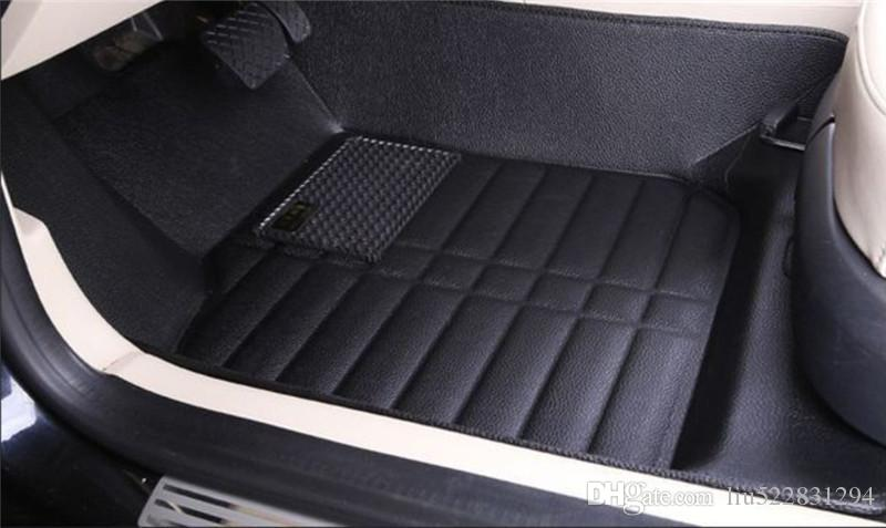 LY5D Car Floor Mats Front Rear Liner Auto Waterproof For Mazda CX-5 2014