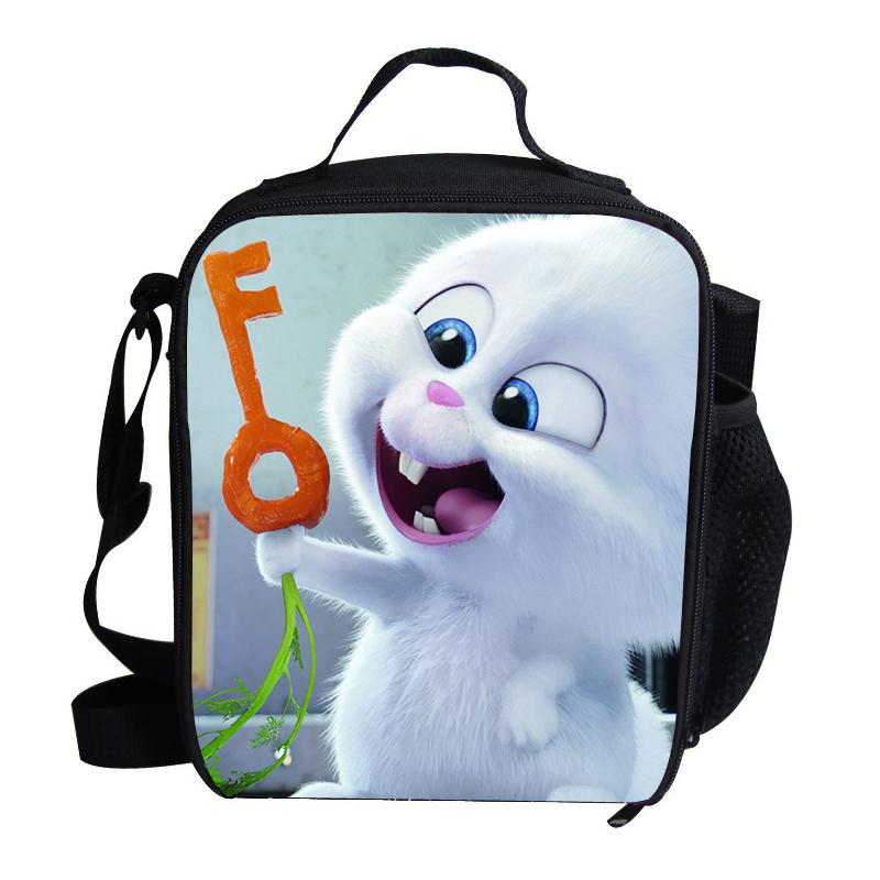 48e021467 Thermal Insulated Cute The Secret Life Of Pets Printing Girls Luch Bag for  Kids Portable Food Container Termica Sandwich Bag Lunch Bags Cheap Lunch  Bags ...