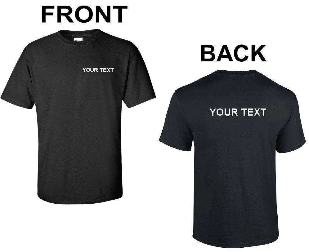e67e58e25 Custom Personalized T Shirt Small Business Any Font Text Customized Shirt S  2XL On T Shirts It Tee Shirts From Marcusdover, $11.01| DHgate.Com
