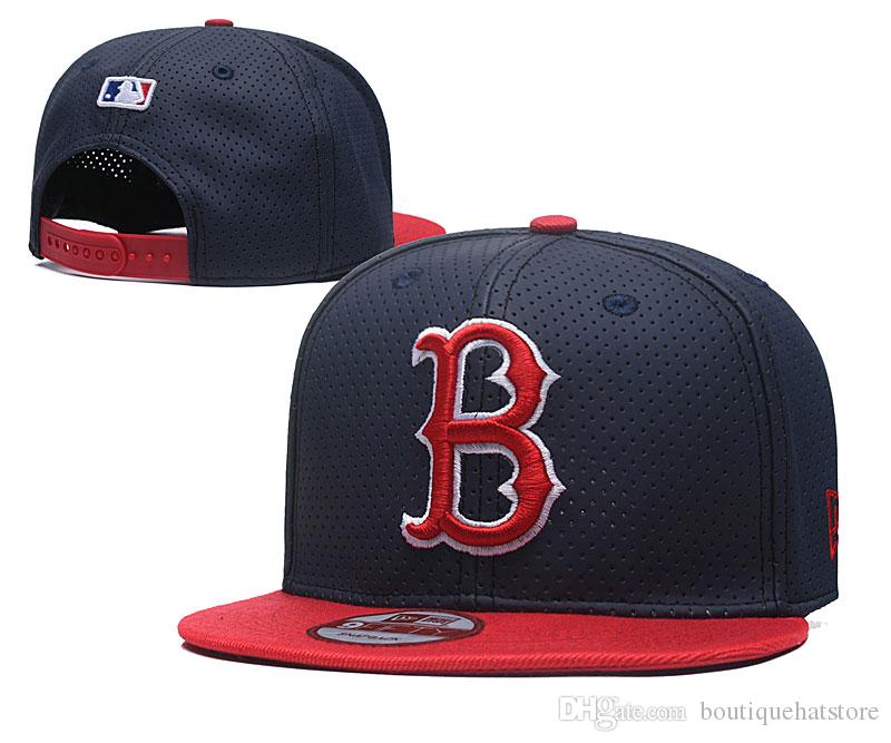1fdbf89c078 New Men S Red Sox Snapback Hat With Reflection Design B Letter Team Logo  Brand Hip Hop Sports Baseball Adjustable Caps Hats And Caps Skull Caps From  ...