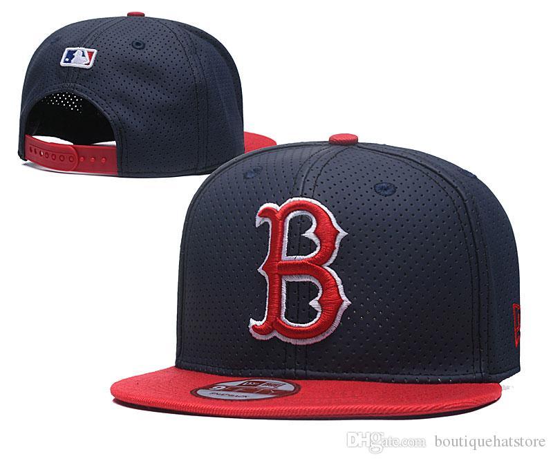 Compre New Red Sox Snapback Hat Para Hombre Con Diseño De Reflexión B Letra  Logo Del Equipo Hip Hop Deportes Béisbol Gorras Ajustables A  7.93 Del ... cfad58591155