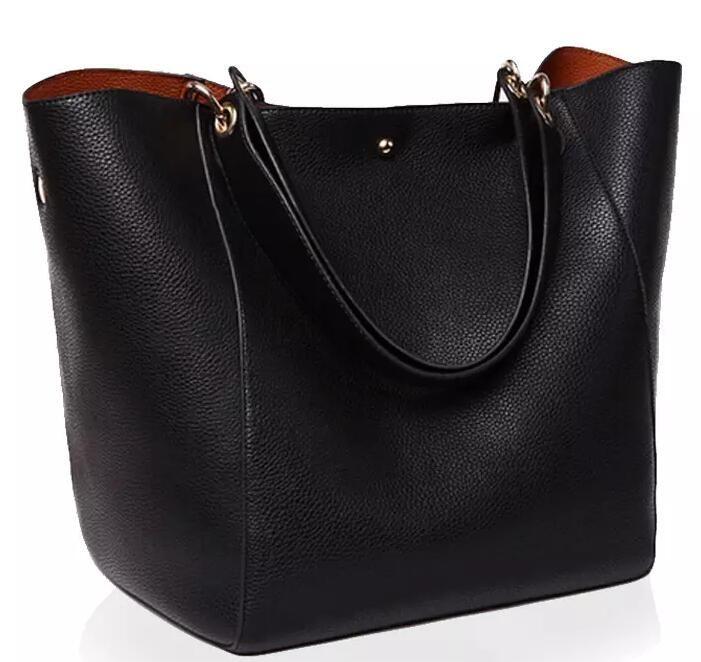 Luxury Women Handbag Famous Brand Shoulder Bags Solid Designer Handbags High Quality Ladies Hand Bags Women Tote Big Female Bag