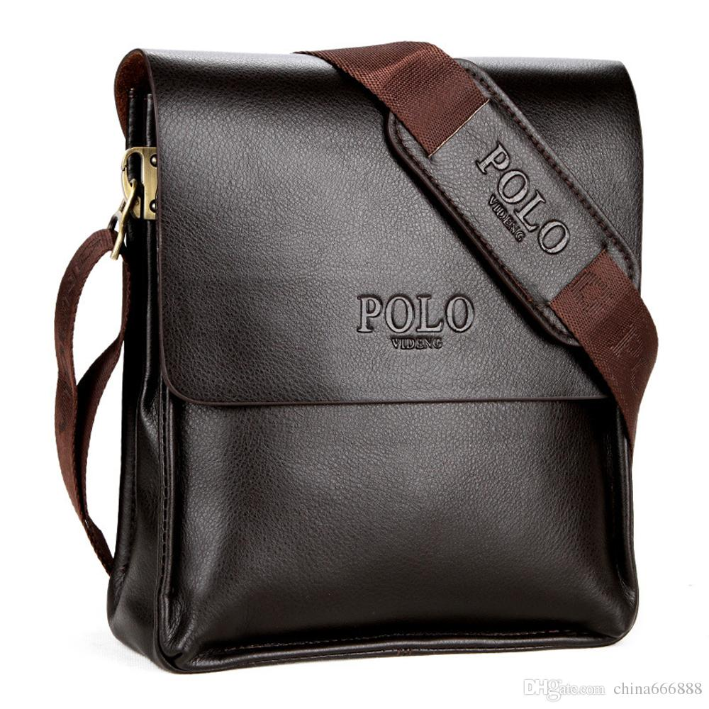db64131ea POLO Vintage Leather Man Bag Leather Messenger Bag Leather Bags For Men  Mens Fashion Shoulder Crossbody Bags Weekend Bags Luxury Bags From  China666888, ...
