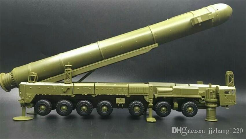 Russia White Poplar Intercontinental RT-2PM Missile Launch Vehicle 1:72 4D Plastic Color Assembly Military Model Toy