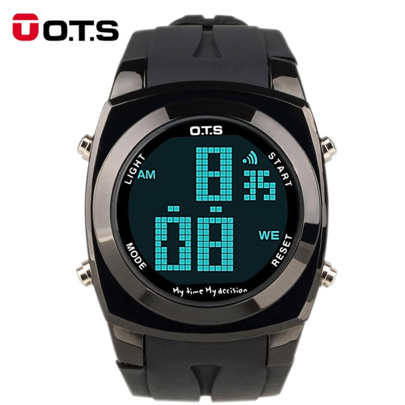 d22dd782e45 OTS Original Creative Large Number Style Men Relojes Sport Watch Waterproof  Alarm LED Digital Fashion Watches Relogio Masculino Best Deals On Watches  Best ...