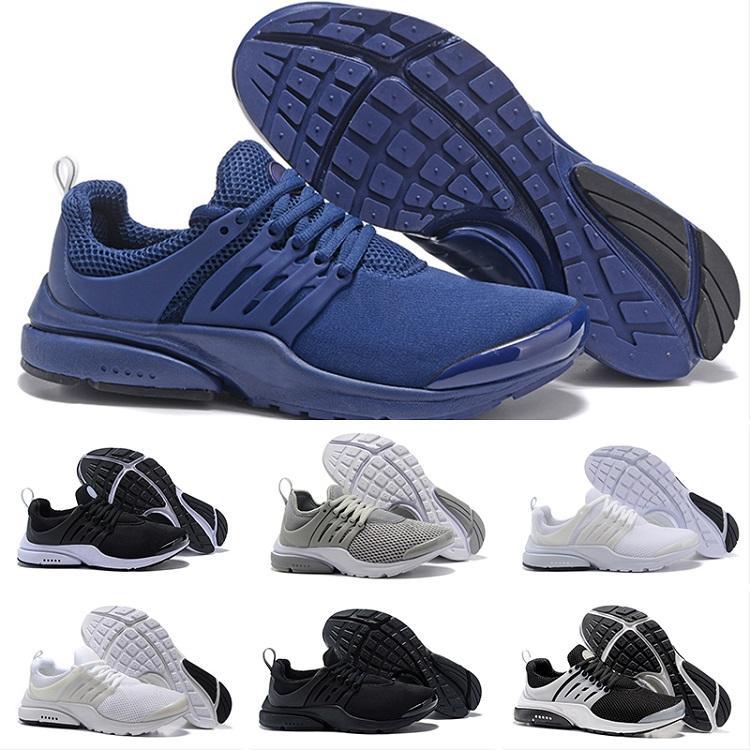 info for ef4a8 ea5cd Compre Nike Air Presto Ultra Low Trainers Venta Al Por Mayor Caliente BR QS  Negro Blanco Amarillo Rojo Zapatos Para Hombre Zapatos De Las Mujeres  Hombres ...