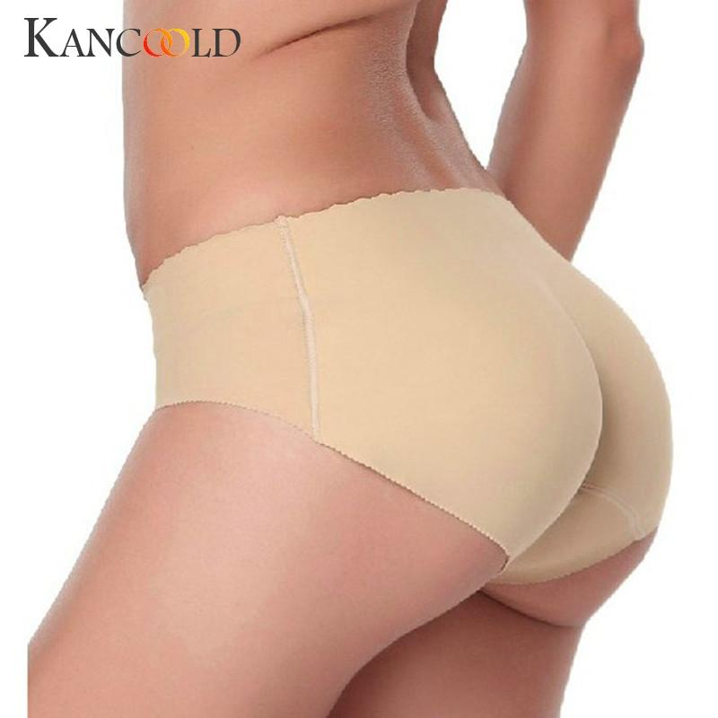 a4fa9befcc5fa 2019 Sexy Lady Padded Panties Seamless Bottom Panties Buttocks Push ...