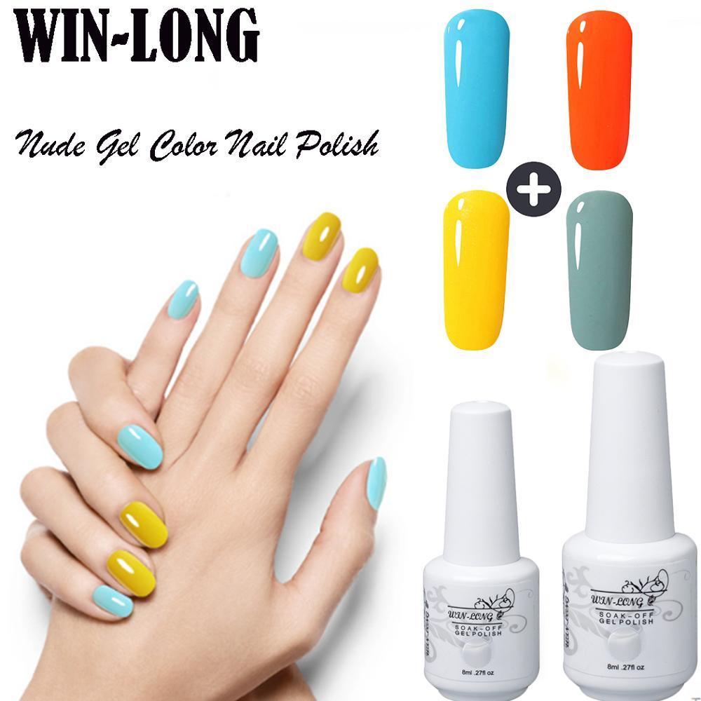 Choose 6Lucky Gel Nail Polish Kit 8ML Gel Nail Polish Set For ...