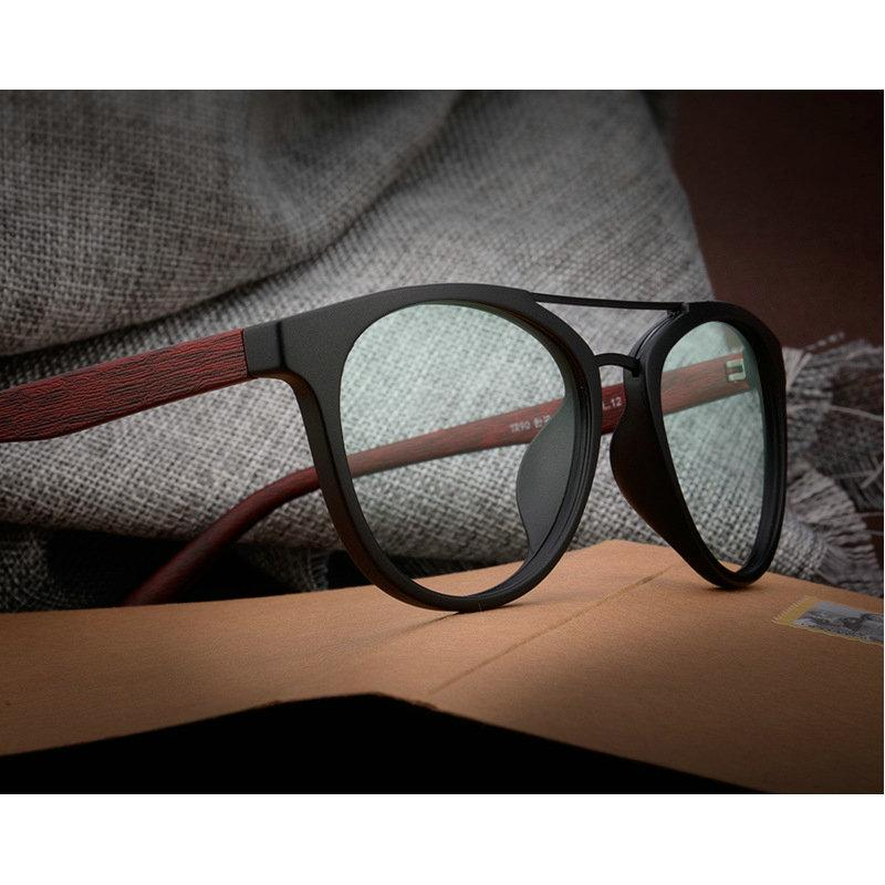 3f280746d7fc 2019 MINCL 2018 Fashion Acetate Wood Optical Glasses Frame Print Eyeglasses  Frame Men Women Brand Designers Clear Lens Sunglasses Lxl From Fenkbao