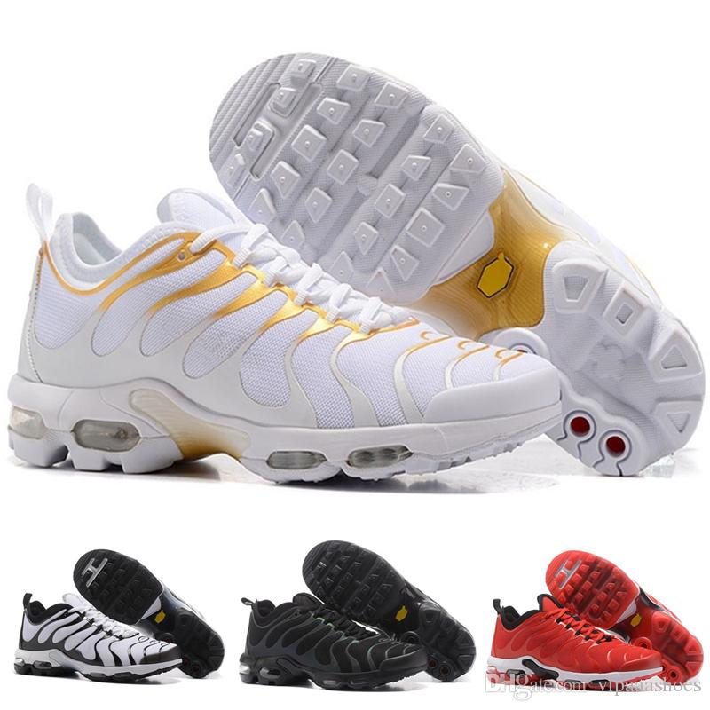 check out d3556 4ca0f Acheter Nike Tn Plus Air Max Nova TN Nouveau Arrivail TN Rainbow Hommes  Chaussures Plat Bottom Air Cushion Hommes Respirant Léger Chaussures De  Course ...