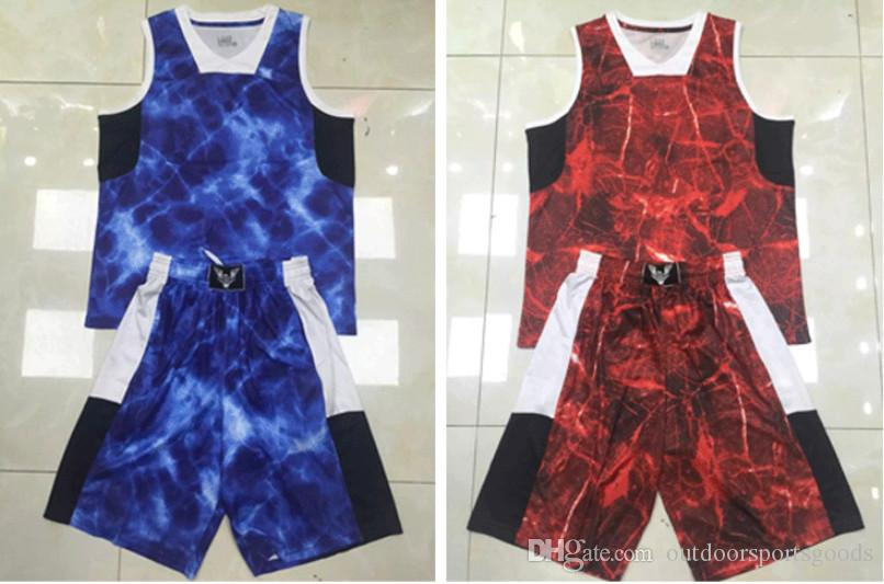 Decorative patter male pattern basketball uniform students' team customized package of the DIY shirt competition sleeveless vest shorts