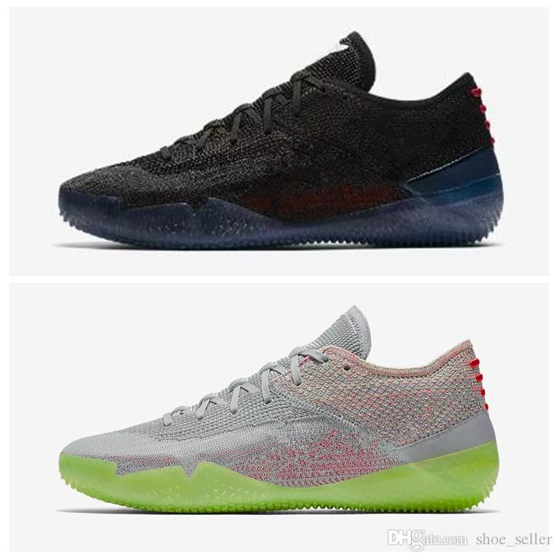 the latest 3901a 72f44 2018 New Arrive Kobe A.D. NXT 360 Yellow Strike Mamba Day Multicolor Mens  Basketball Shoes Low Weaving 12 Wolf Sports Sneakers Size 40 46 Shoes  Basketball ...