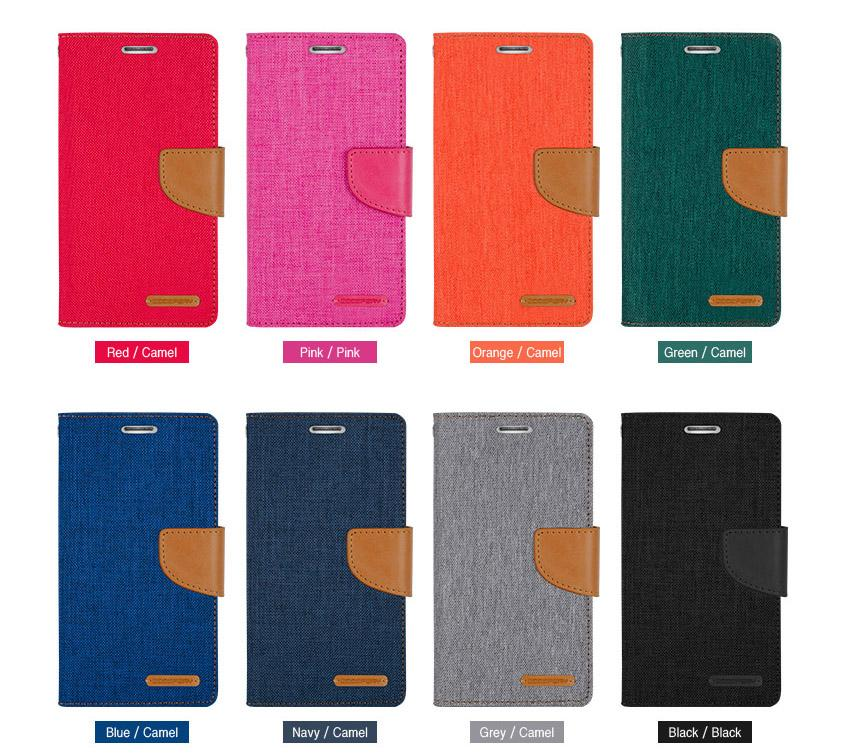 official photos 19356 7c897 Wallet Case Canvas Diary Flip Cover For Samsung Galaxy S3 S4 S5 S6 S7 Edge  S8 PLUS C9 PRO NOTE 4