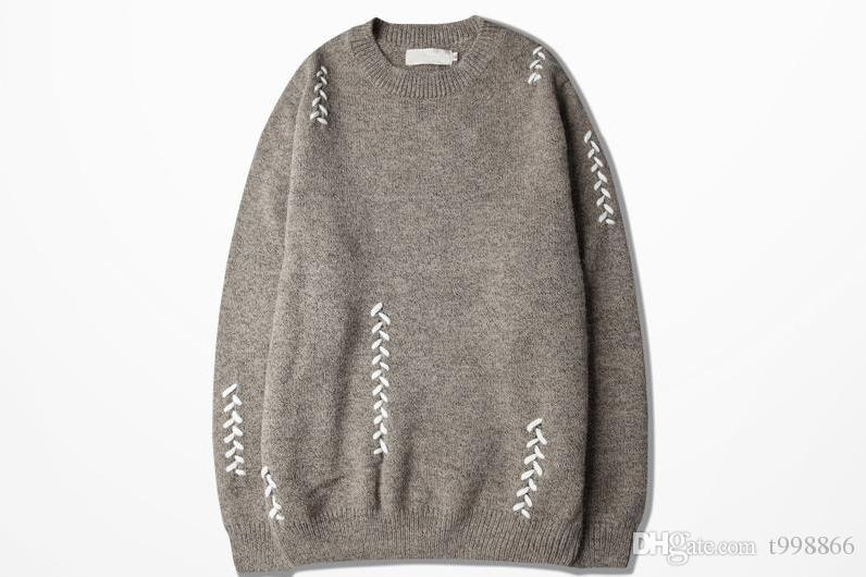 d9e2204de 2018 New Arrival National Wind Knit Simple Sweater Boy Autumn Youth ...