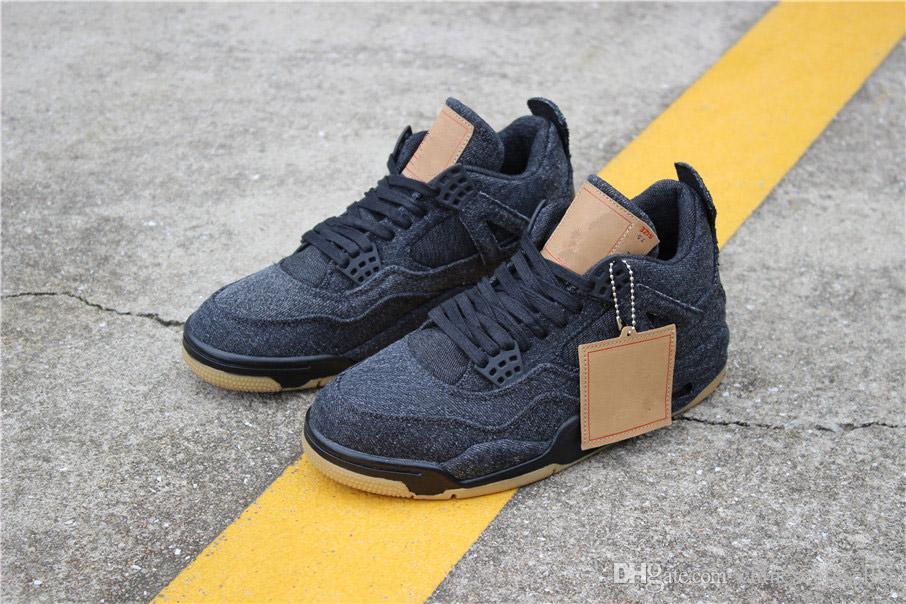 Shoes Air 4s Levis Acheter Date 4 X 2018 Basketball Aj4 Jordan pqfqTw