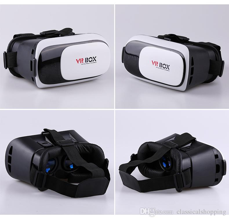 "Virtual Reality VR Box 2.0 3D Glasses Headset VR Box For 3.5-6"" Smart Phones Immersion Video/Gaming Experience"
