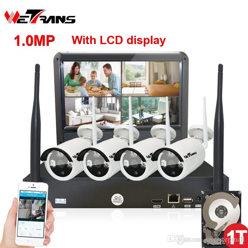 5e349bcdeea76 Wireless Surveillance Camera System 10.1 Inch LCD Display 4CH Wifi ...