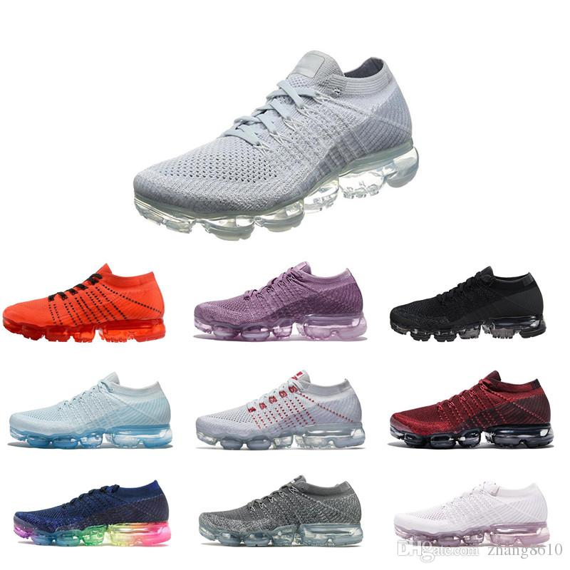 New Vapormax Running Shoes Men Sneakers Women Fashion Athletic Sport Shoe Hot Corss Hiking Jogging Walking Outdoor Shoe official for sale 8NoxB