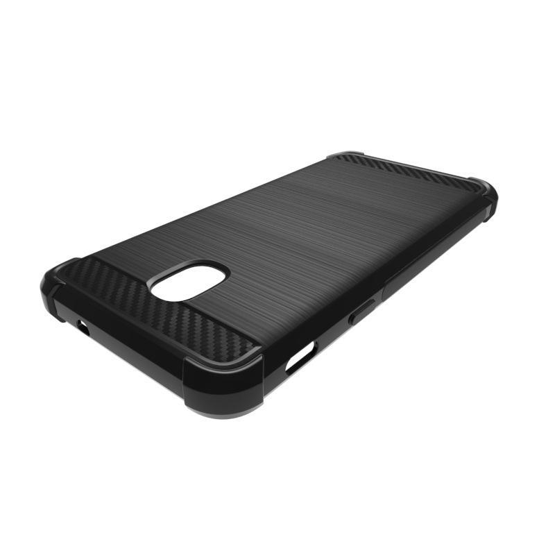 Samsung A6 2018 1.3 мм углеродного волокна чехол матовый чехол мягкий TPU противоударный для Samsung Glaxy A6 2018 / A6 Plus 2018