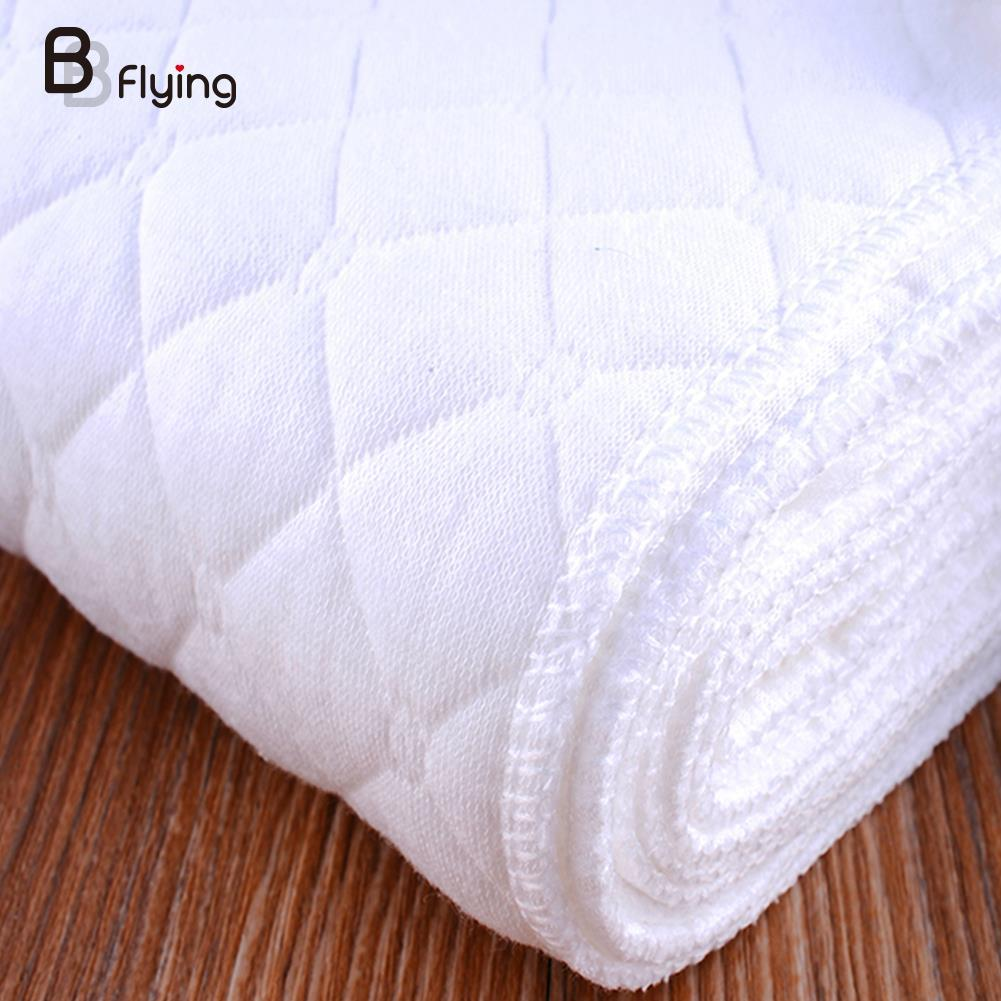 New Reusable Baby Infant Cloth Diaper Nappy Liners insert Cotton White Baby Infant Nappy Cloth Diapers HOT