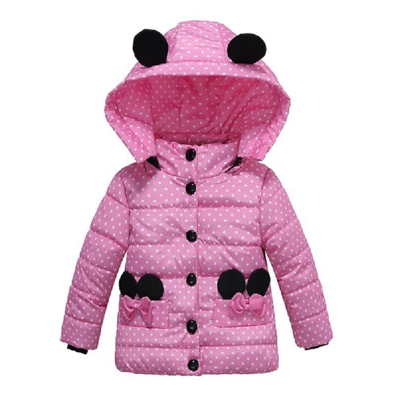 0f4615155 Girls Winter Coat Children S Cute Hooded Down Jacket For Baby Boys ...