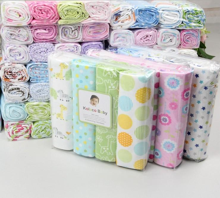 3e79a7051b7d Pack 100% Cotton Supersoft Flannel Baby Blanket