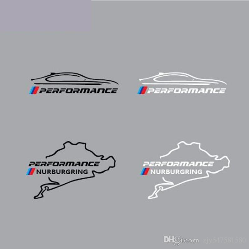 New Style voiture réservoir de carburant autocollant Racing Road Nurburgring pour bmw e46 e90 e60 e39 f30 f34 f10 e70 e71 x3 x4 x5 x6 voiture style