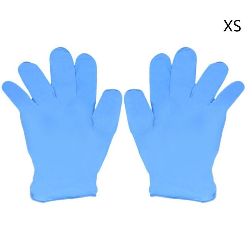 2019 High Quality Blue Disposable Mechanic Gloves Rubber Household