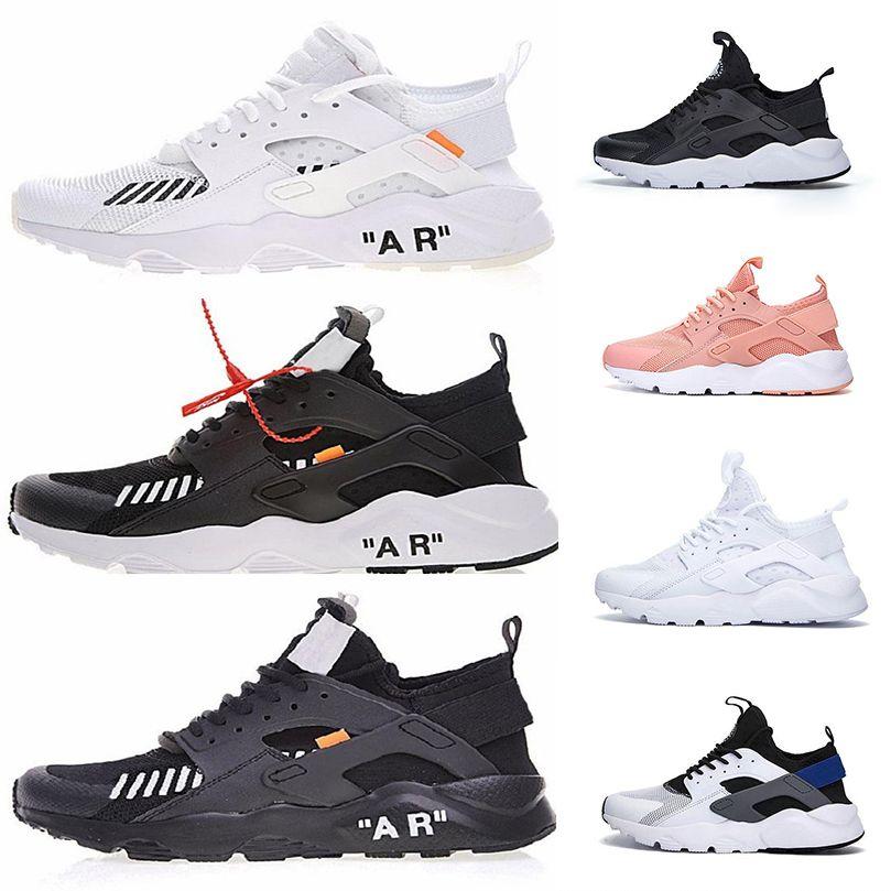 b9c28a5b4afc Air Huarache Ultra Fashion Running Shoes With Shoelace Men Women Designer  Triple White Black Huaraches Sports Sneaker Max Size 36-46 Huarache  Huaraches ...
