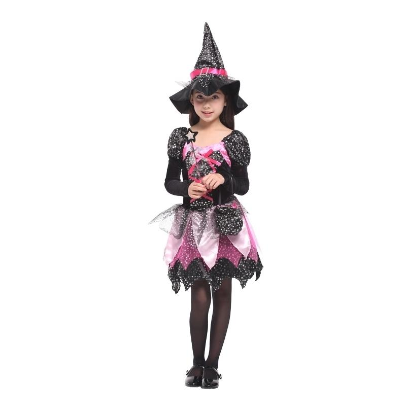 Scary Halloween Costume For Kids Witch Costumes Party Cosplay Girls  Carnival Princess Children Child Fancy Dress Hat Christmas Costumes Themes  Halloween ...