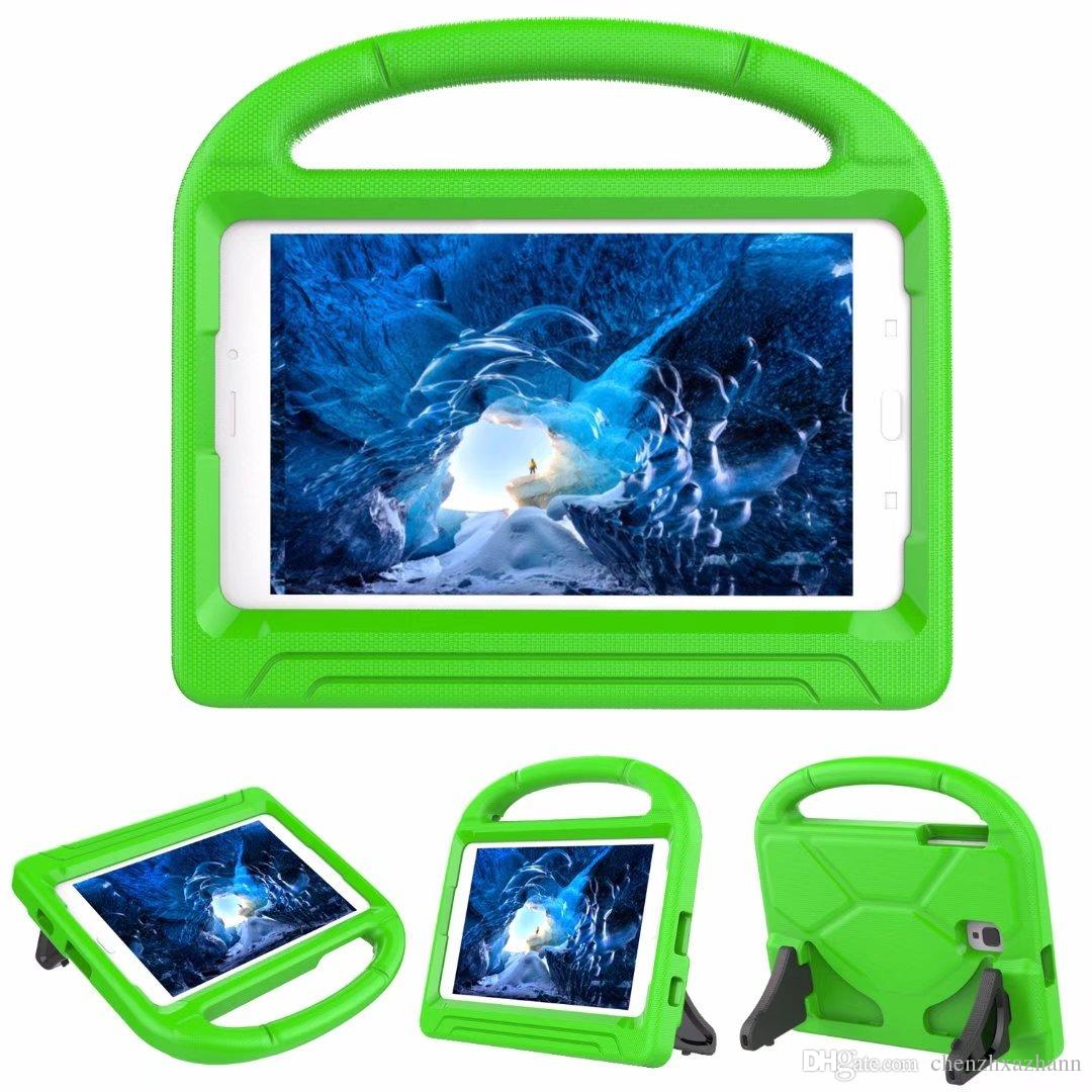 Cover Cases For Samsung Galaxy Tab A 8.0 2017 T380 T385 Child Kids EVA Safe Soft Foam Dropproof Shockproof Stand Defender+pen