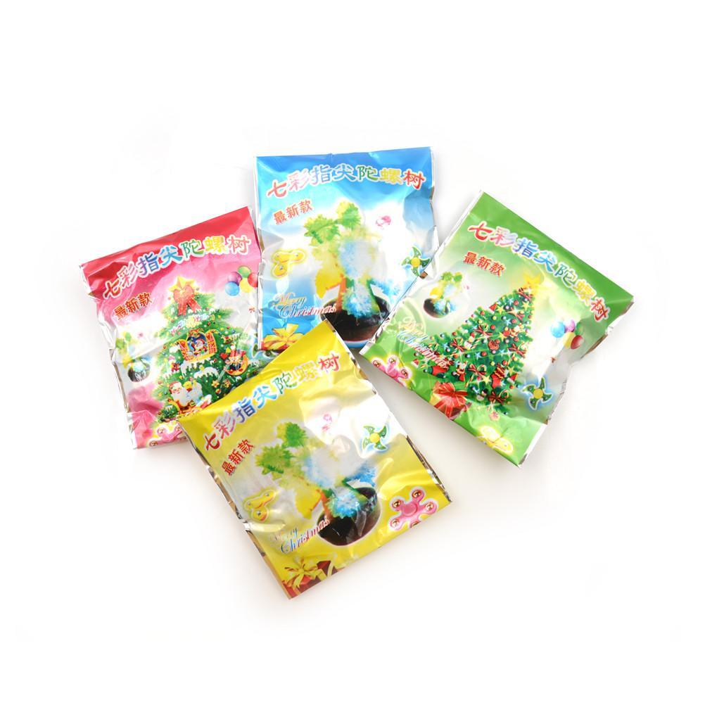DIY Magical Desktop Christmas Tree Kids Toy 2bags Decorative Bonsai ...