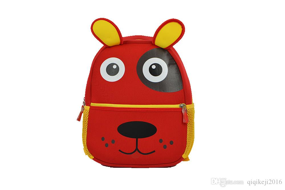 b99bde30019a 2018 Hot Seller Pet Dog Bag Children Cute Animal Schoolbag Best Gift For  Kids Various Colors For Autumn Waterproof Book Bags School Backpacks From  ...