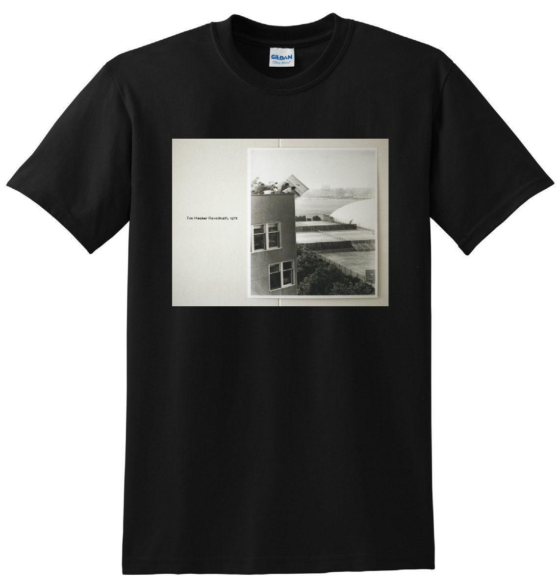 Tim Hecker T Shirt Ravedeath 1972 Vinyl Cd Cover Tee Small