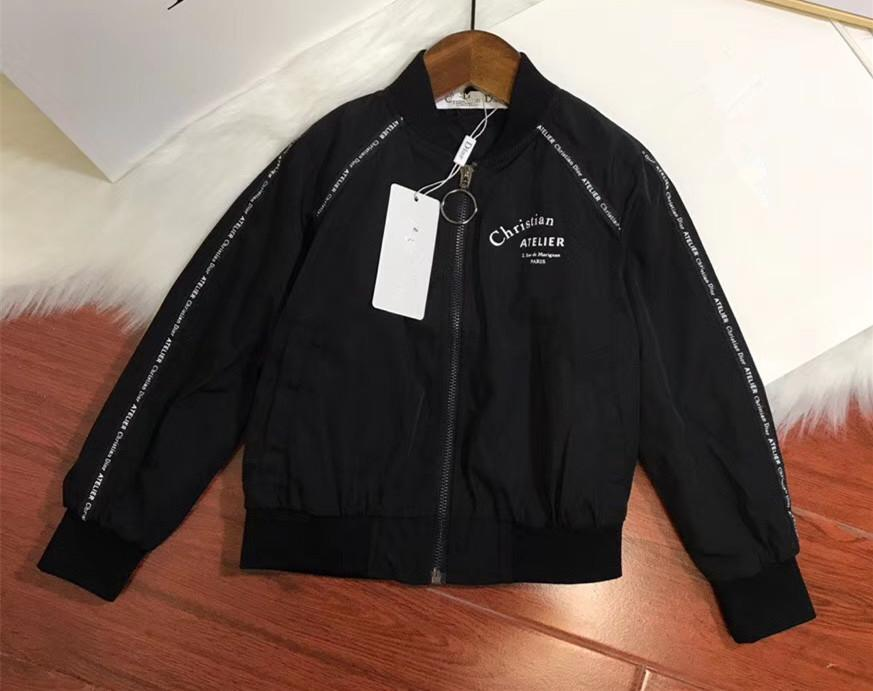 87be6cbf355b Hao 2018 New Pattern Autumn Fashion Kids Jackets Black Cool All ...