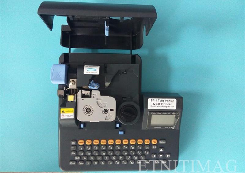 2017 New High Quality Tube Heat Shrink Tubing Printer + Pc ...