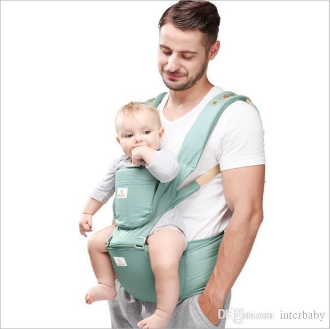 d9ed5500c03 2019 Baby Carrier Waist Stool Walkers Newborn Sling Wrap Hold Waist Belt  Backpack Kids Breathable Hipseat Belt Infant Hip Seat Suspenders B3975 From  ...
