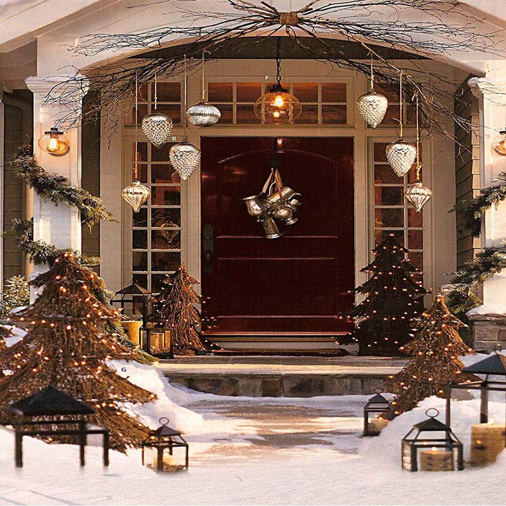 Großhandel Frohe Weihnachten Party Foto Hintergrund Gedruckt Kiefer ...