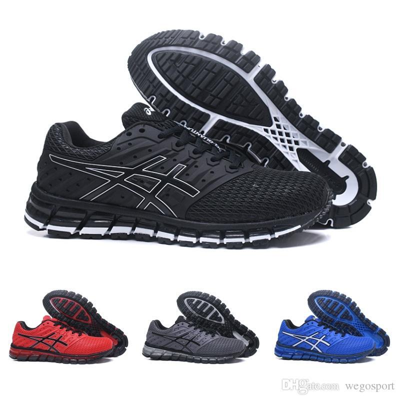 37f8170fb 2019 Asics New Gel Quantum 360 TN Vamp Zapatillas De Running Para Hombre  Negro Azul Rojo Gris Moda Zapatillas Deportivas Al Aire Libre De Bajo  Tamaño 7.5 11 ...