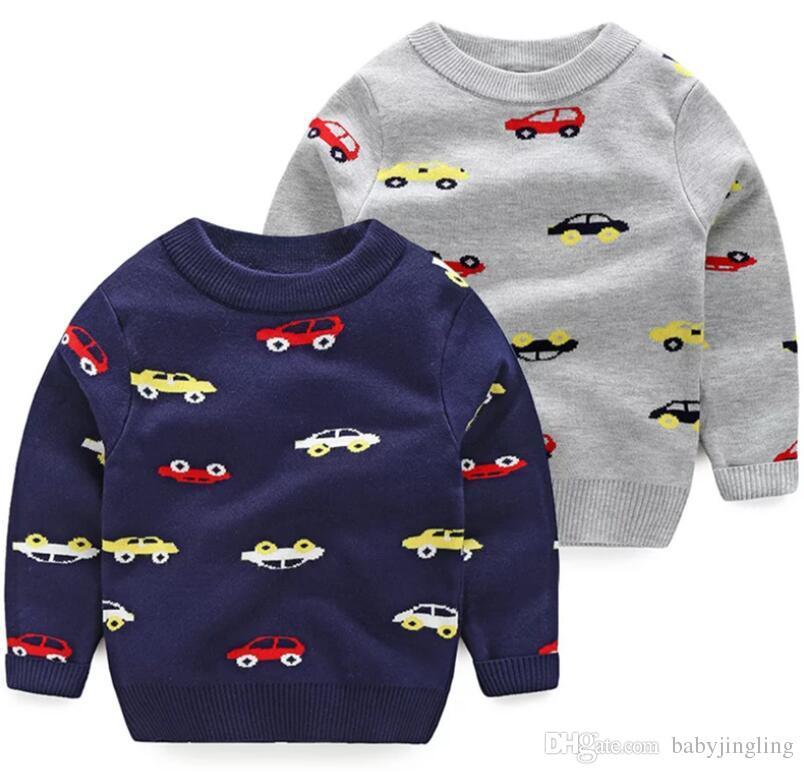 0c9e16ca1924 2019 Autumn Winter Kids Boys Jumper Winter Sweaters Children Kids ...
