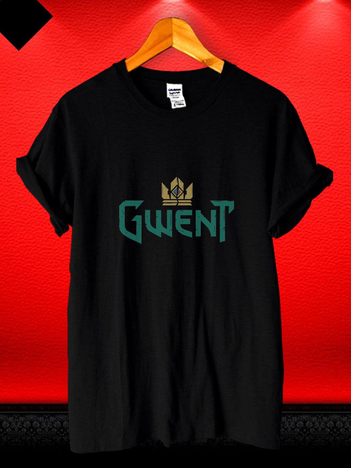 a77629c22 The Witcher Gwent Game Logo CCG Simple Casual Men'S T Shirt  S,M,L,XL,2XL,3XL Funny Unisex Tee Random T Shirts Poker T Shirts From  Stshirt, $12.96| DHgate.